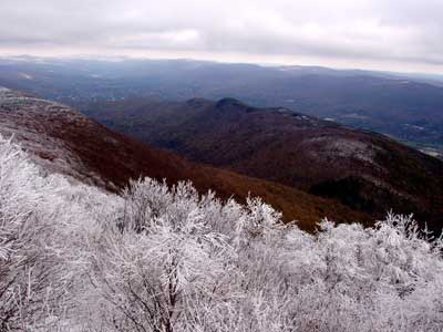 Fall Snow on Mount Greylock