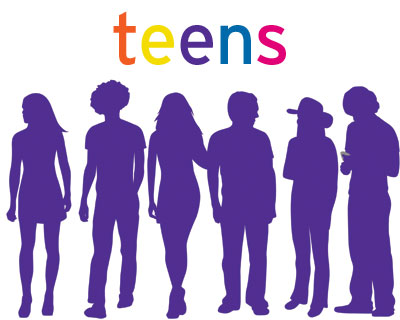 Teens/purple