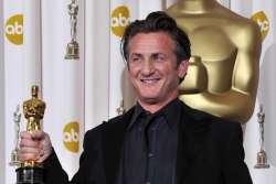 Sean Penn Oscar Night