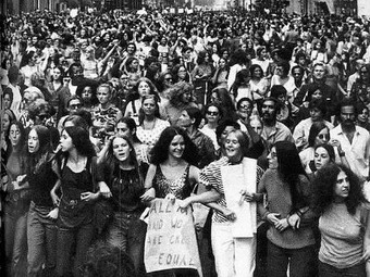 Womens history 1970s