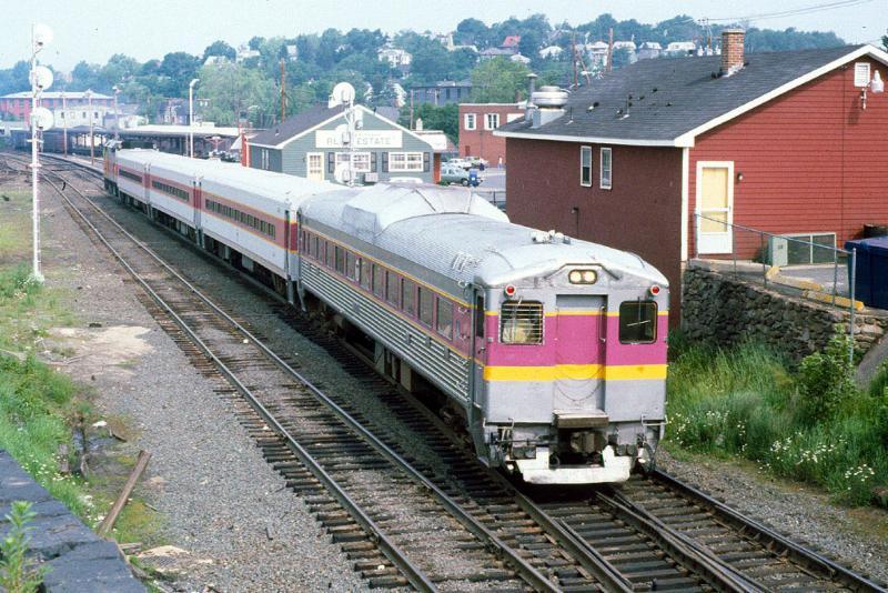 MBTA RDC Rapido