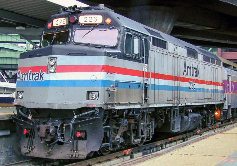 Amtrak Modernized F40