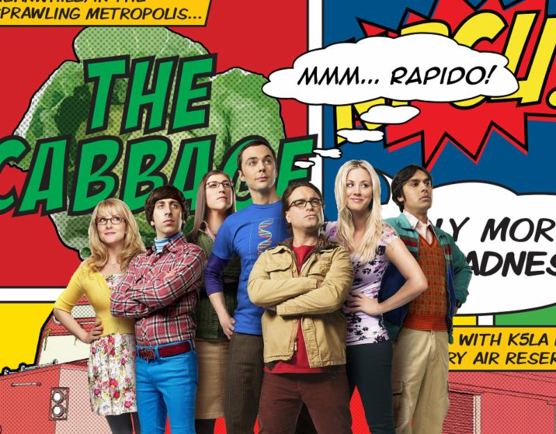 Big Bang Theory Rapido