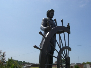 Twain statue
