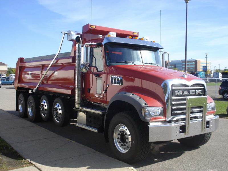 Mack Quad Dump Trucks : J craft demo units available to see today