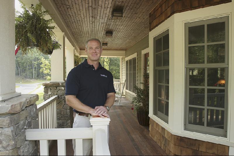 Sean on porch