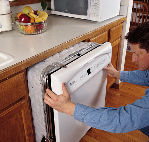 how to replace a dishwasher. Black Bedroom Furniture Sets. Home Design Ideas