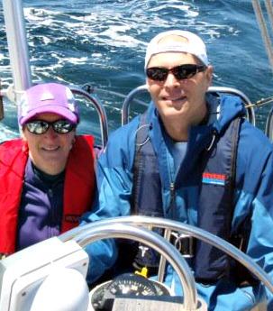 The McCormacks sailing