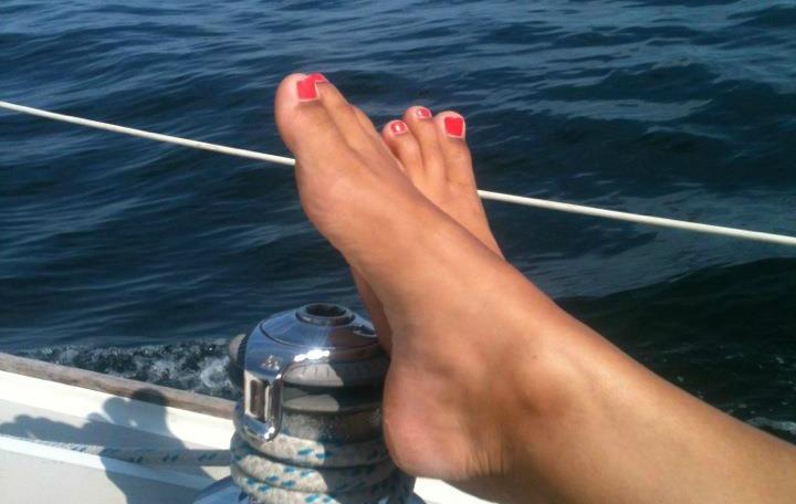 Megans feet