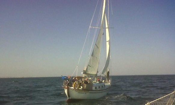 Sailing sarahmaria end of season