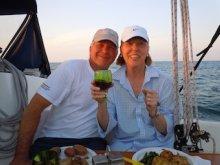 John and Linda on the Ker Mor