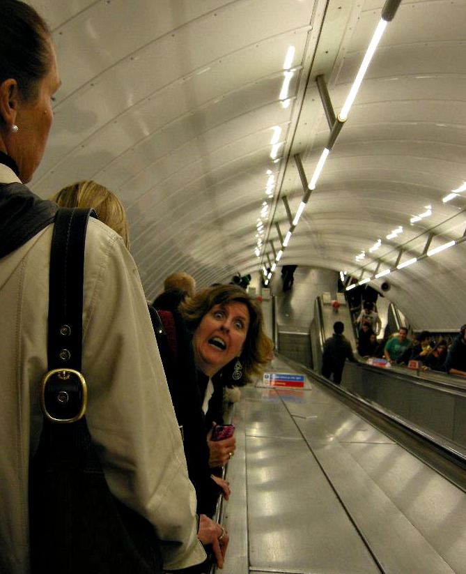 Jan going deep in the tube