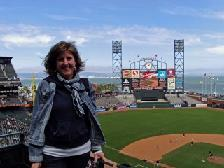 Jan blown away by AT & T park