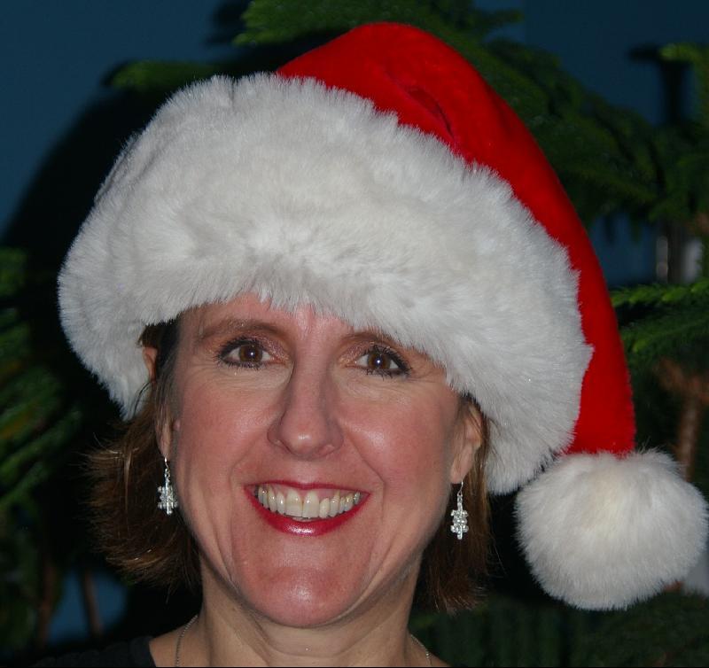 Jan feeling festive!