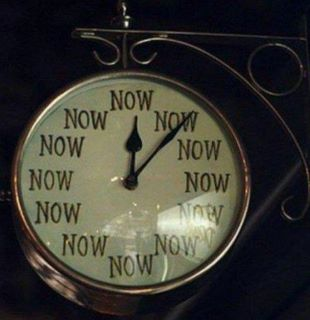 the NOW clock