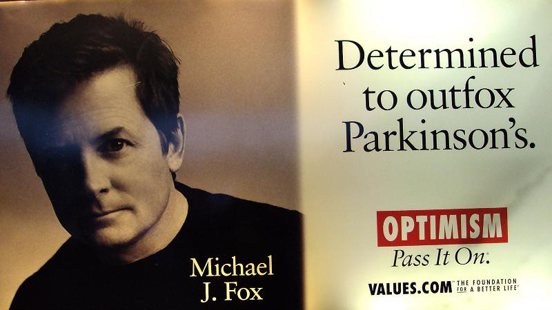MJ Fox for a Parkinson's cure