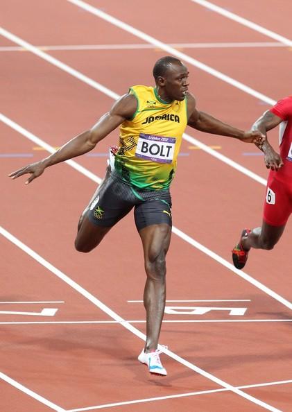 Usain Bolt wins Gold Medal