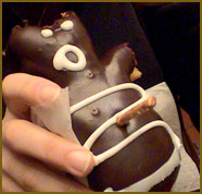 The Voodoo Doll Doughnut