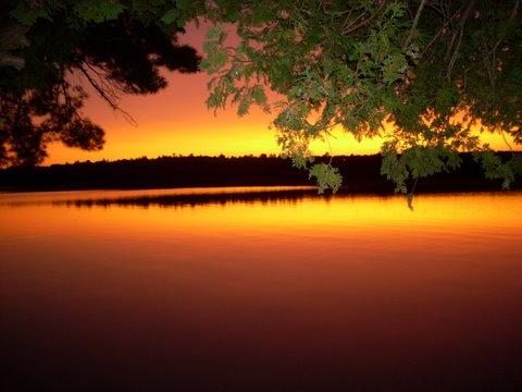 Sandy Lake Sunset