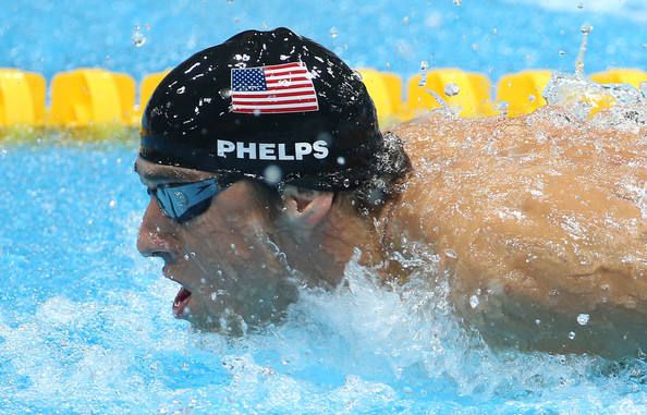 Michael Phelps wins Gold