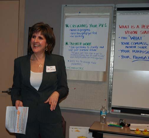 Jan Carley Workshop Facilitator