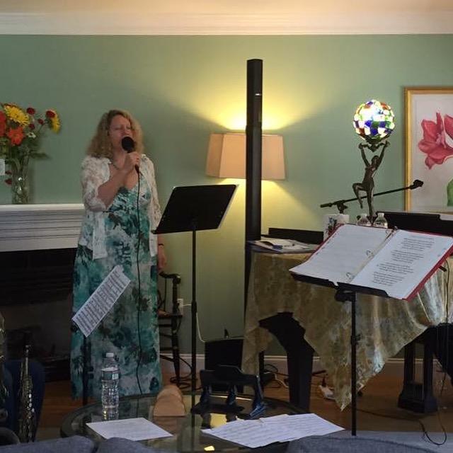 Carole King rehearsal