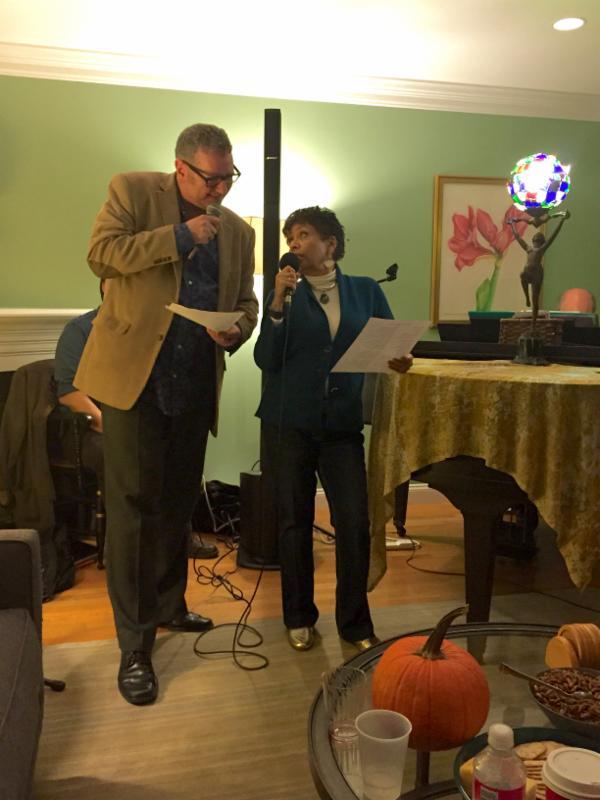 Joan and Jim at BACA Holiday Party 2015