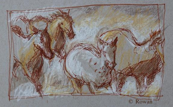 Wild Horses by Rowan Wielblad
