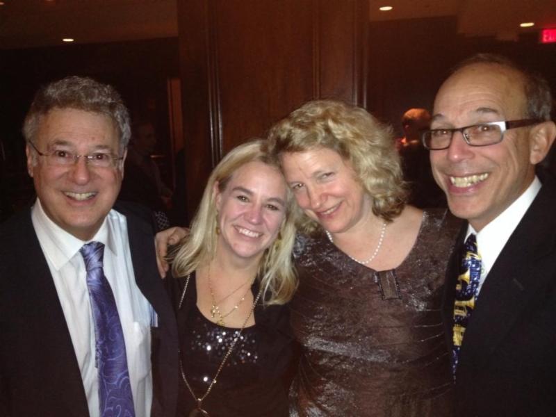 Bill, Louise, Linda, Bo at Gala