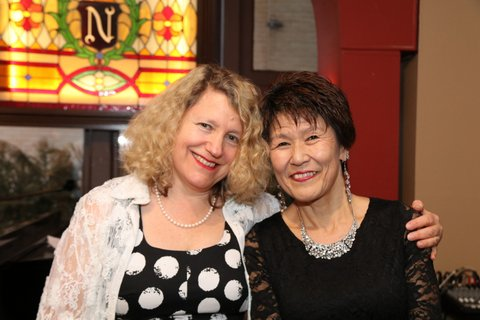 Me and Kaoruko at the show