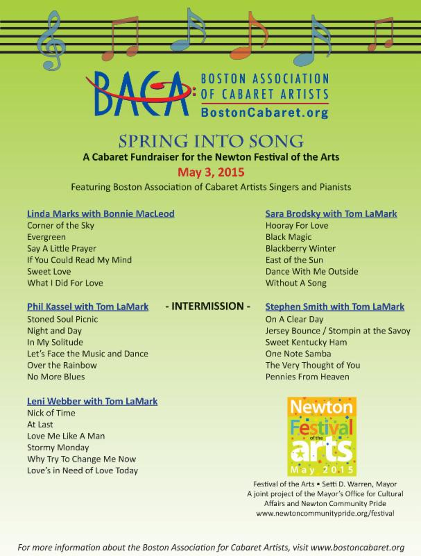 Spring into Song Program