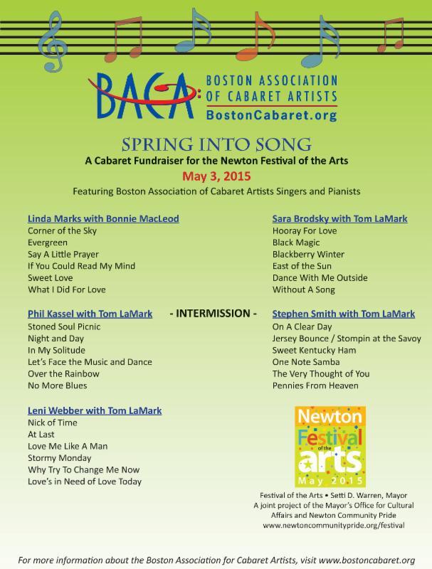 Spring into Song Program