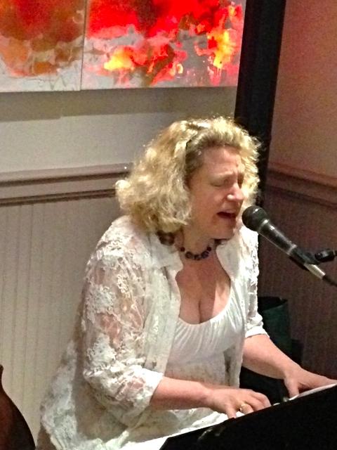 Singing at Putterham Grille
