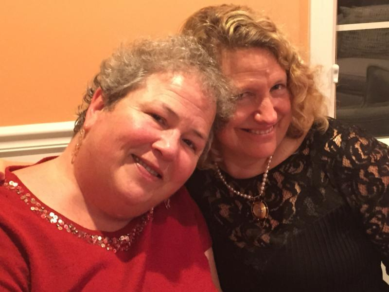 Me and Wendy BACA Holiday Party 2015