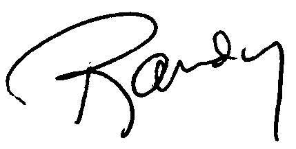 Randy signature