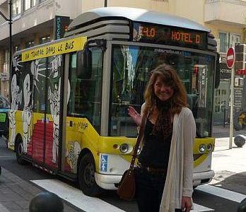 Ashley Ver Burg in Cannes