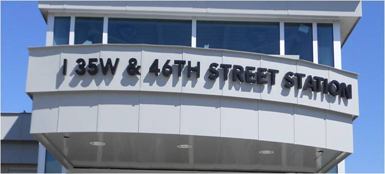 I-35W & 46th Street Station