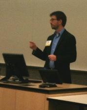 Philip Schaffner presenting on Minnesota GO