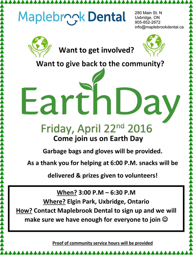 Maplebrook Earth Day Clean Up