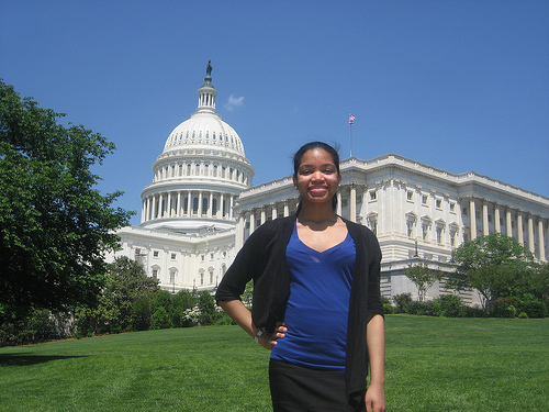 Rocio in DC Capitol