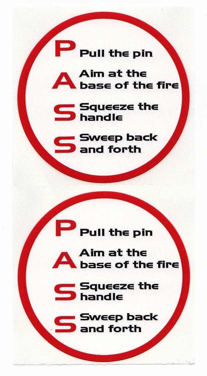 PASS stickers