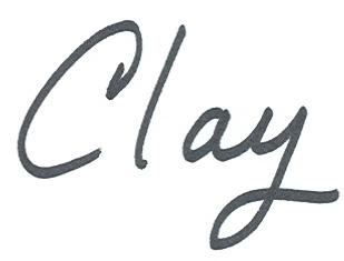 dcp Clay signature