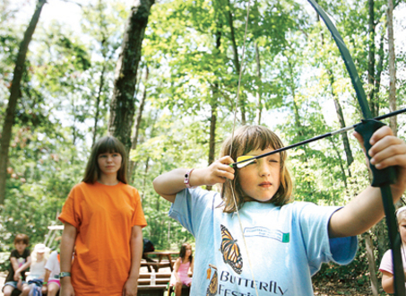 Girl Scouts Archery
