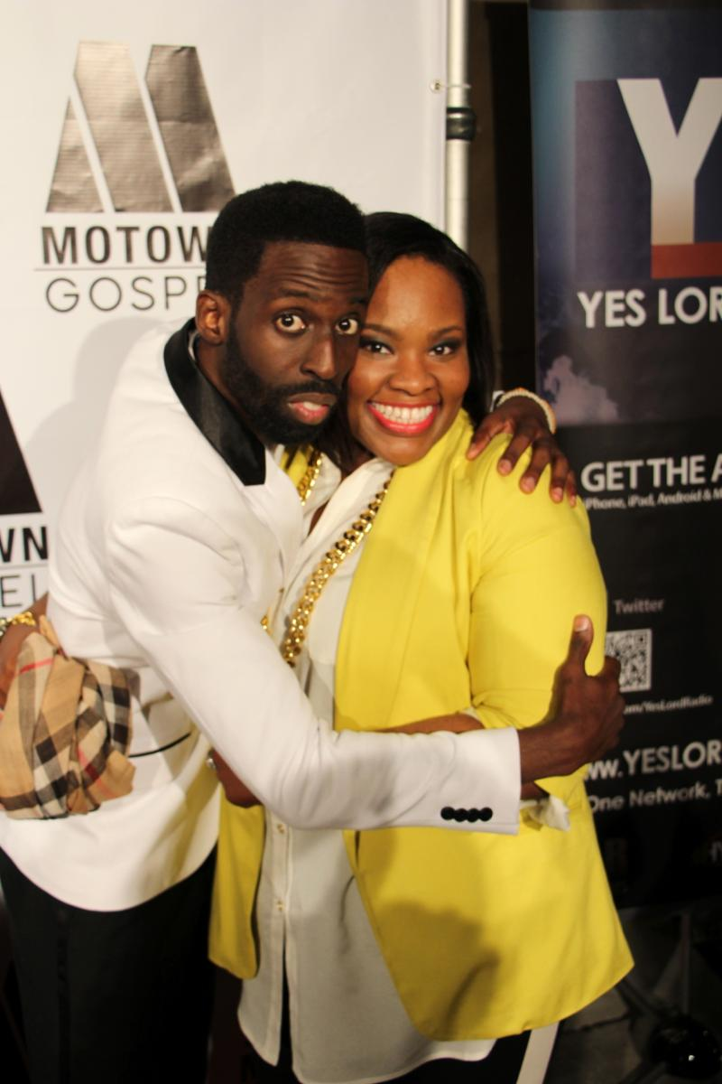 Tye Tribbett and Tasha cobbs