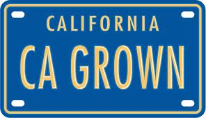 CA GROWN logo