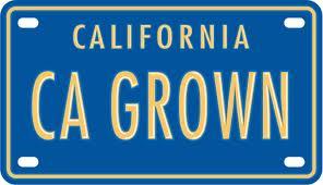 CA GROWN logo
