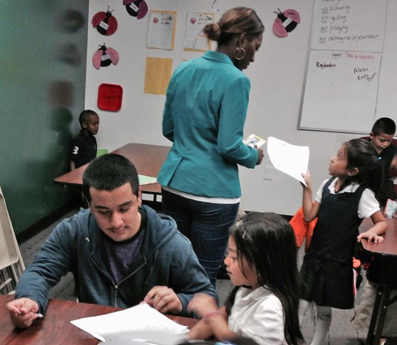 Homework help for kids in Compton