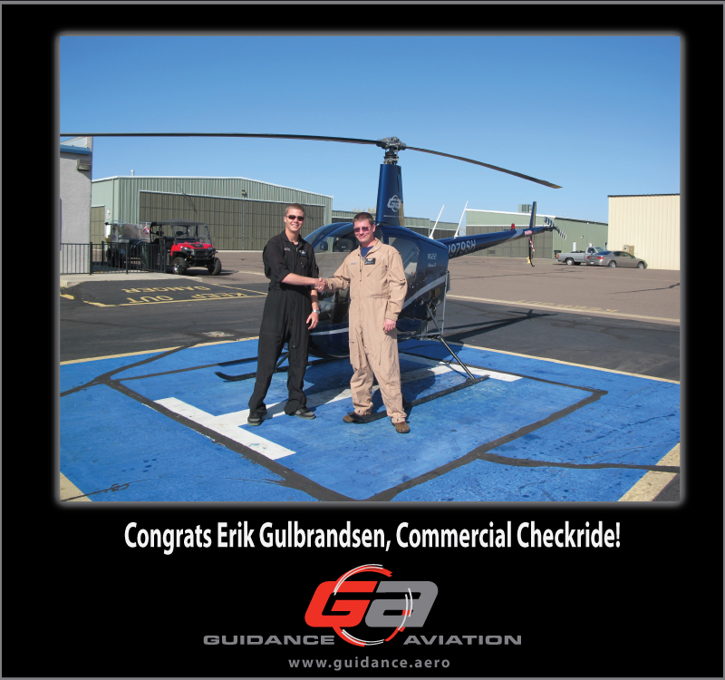 Guidance Aviation Helicopter Flight students