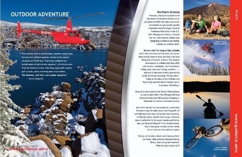 Guidance Aviation Region Page