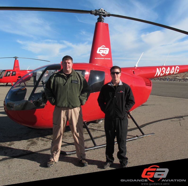 Guidance Aviation Helicopter Flight Training Students